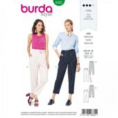 Burda Pattern, Pleated pants, Size: 36-46