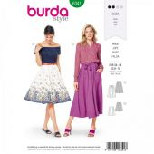 Burda pattern, Skirt, Size 34-44