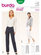 Burda pattern, trousers, size: 36-50