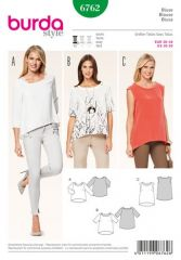 Burda pattern, blouse, size: 36-46