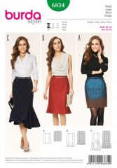 Burda pattern, skirt, size: 36-48
