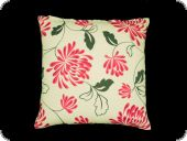 Pillow case, flowers, pink, 45x45cm