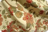 Exrabroad, high-class jacquard fabric with flowers