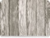 Interesting deco fabric, wood pattern, grey, 140cm