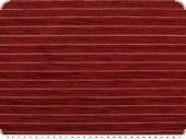 Deco-upholstery fabric with chenille, stripes, cherry, 140cm