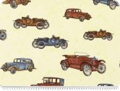 highquality decoration fabric,cars, cream-multicolour, 140cm