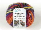 Trendy sock- knitting yarn, col. 2269, 150 gr/375m