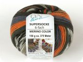 Trendy sock- knitting yarn, col. 2271, 150 gr/375m