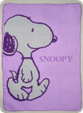 Fleece blanket, Snoopy, 130x170
