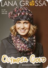 Knitting instructions, Olympia Gold, language: german