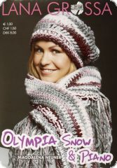 Knitting instructions, Olympia Snow, language: german