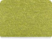 Jacquard upholstery fabric with chenille, paisley, 145cm