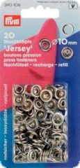 Press fasteners 'Jersey' refill packs, for Prym-390107