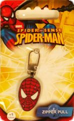 SPIDER-MAN zipper pull