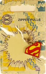 SUPERMAN zipper pull