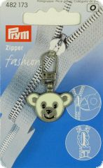 Zip puller, bear, for kids