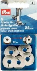 Bobbins for rotary shuttle, Ø 21.9 mm, 5pcs.