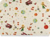 Deco fabric for children, digital print, children's dreams