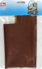 Bag bottom, 32 x 12 x 6cm, brown