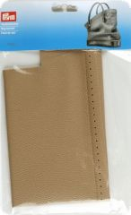 Bag bottom, 32 x 12 x 6cm, beige