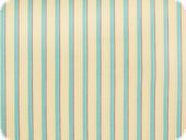 Cotton fabric, coloured woven, stripes, ecru-turquoise,130cm