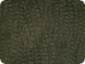 Jeans fabric,  reptilian look, brown, 150cm