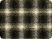 Wool blended fabric, checked, grey-blue, 160cm