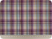 nice shirting,  cotton blended fabric, checked, 150cm