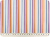 Nice viscose stretch fabric, stripes, multicolor, 140cm