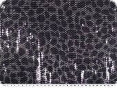 Sequined fabric, silver-violett,  138cm