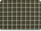 nice shirting, cotton, checked, fir green, 150cm