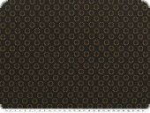 Blouse fabric, circles, black-light brown, 150cm