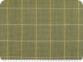 High quality wool blend with silk, yellow-brown, ca. 150cm
