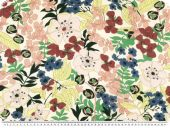 Colourful flower print, viscose, 143cn