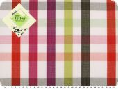 Awning cloth fabric, teflon coatet, checked, width 158cm