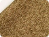Cork fabric, rolled, 50x68cm, net pattern, cork-brown