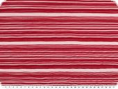 Plissee fabric, red-white, 150cm