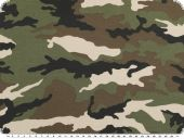 Cottonprint, camouflage, multicolour, 145cm