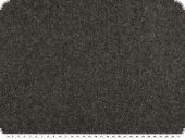High-quality wool-fleece, plain, dark grey, 155cm