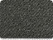 High-quality wool-fleece, plain, anthracite, 150cm