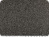 High-quality wool fabric, plain, dark grey, 150cm