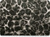 Light animal print, black-ecru, 145cm