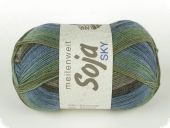 trendy Merino-sock- knitting yarn, col. 0201, 100 gr/400 m