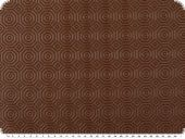 Tablecloths pad, thin foam material,  brown, ca. 140cm
