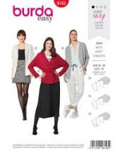 Burda pattern, Fashionable cardigans , 34-44